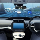 cockpit of driverless car